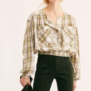 Free People Cropped Top It's The Good
